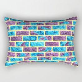 Unique Space bricks pattern Rectangular Pillow