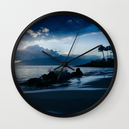 Polo Beach Dreams Maui Hawaii Wall Clock