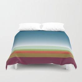 Santa Monica Horizon Duvet Cover