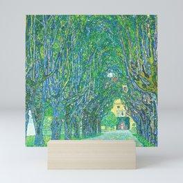 Gustav Klimt - Allee im Park von Schloss Kammer (new editing) Mini Art Print