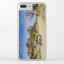 Leopold Downs Road Clear iPhone Case