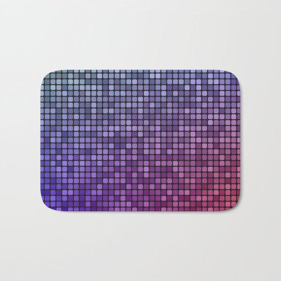 Colorful mosaic Bath Mat