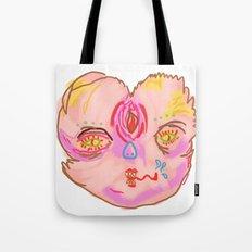 creepah face Tote Bag