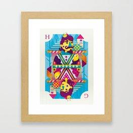 Hansel And Gretel Framed Art Print