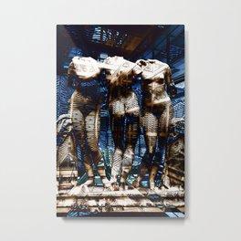 3 cyborg graces Metal Print