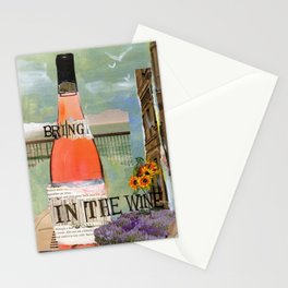 Bring in the Wine Stationery Cards