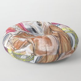 Anatomy Mash-up Floor Pillow