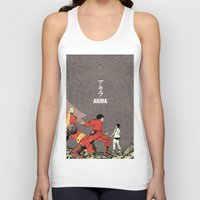 akira Tank Tops featuring Akira by Rafael Romeo Magat