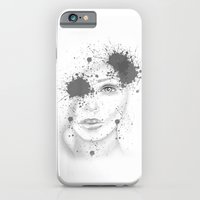 Abstract Face Illustration Slim Case iPhone 6s