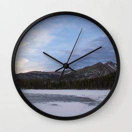 Bear Lake Wall Clock
