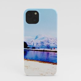 Corpach Sea loch, Highlands of Scotland iPhone Case