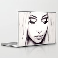 nicki Laptop & iPad Skins featuring  Nicki  by Bella Harris