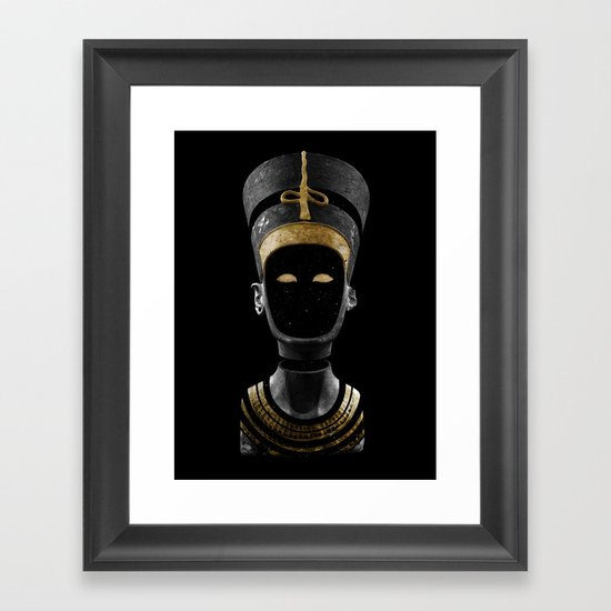 Nefertiti AD (revisited) Framed Art Print