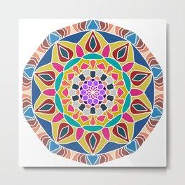 Mandala core Metal Print