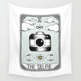 The Selfie Wall Tapestry