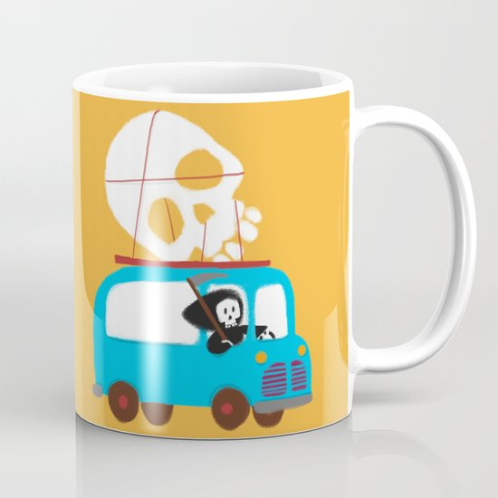 Death on wheels Mug