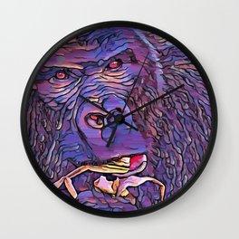 Feeding Gorilla Wall Clock