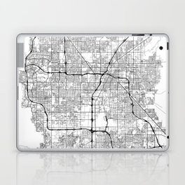 Minimal City Maps - Map Of Las Vegas, Nevada, United States Laptop & iPad Skin