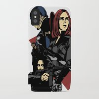 movie poster iPhone & iPod Cases featuring Movie Poster by Shop 5