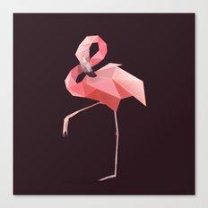 Flamingo. Canvas Print