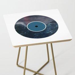 Vinyl Record Art & Design | Stormy Ocean Side Table