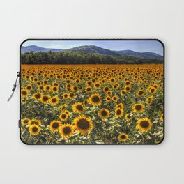 Sunflower Fields Of Dreams Laptop Sleeve