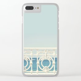 Looking At The Sea Clear iPhone Case