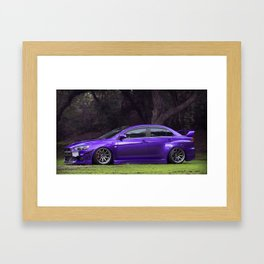 Chasing The Dragon Framed Art Print