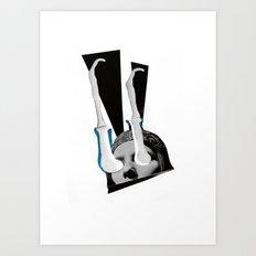 K.O Art Print