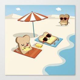 summer butter Canvas Print