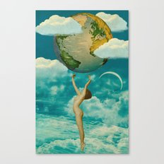Xposed Collection -- Unashamed Canvas Print
