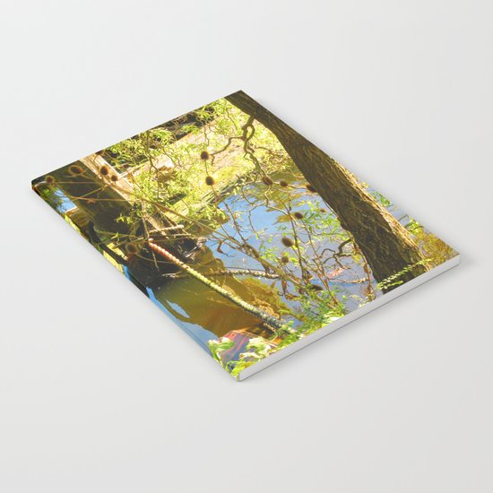 Reclaimed By Nature Notebook