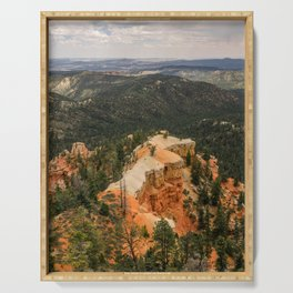 Piracy Point in Bryce Canyon National Park Serving Tray