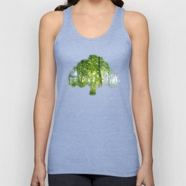 MM - Sunny forest Unisex Tank Top