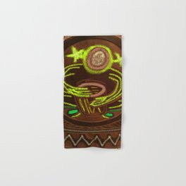 Shamanic Drummer - Healer Hand & Bath Towel