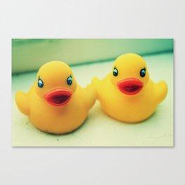 Ducklings Canvas Print
