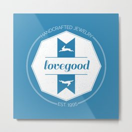 Lovegood Handcrafted Jewelry Metal Print