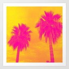 The Palms Art Print