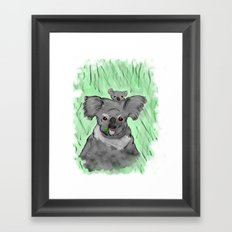 Koalas Framed Art Print