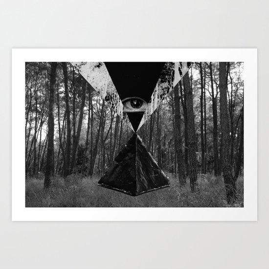 From the Eye Art Print