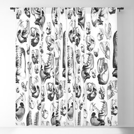 Carnivore B&W Blackout Curtain