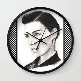 jessica paré...  mrs. draper comes to town. Wall Clock