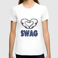 swag T-shirts featuring SWAG by Gold Blood