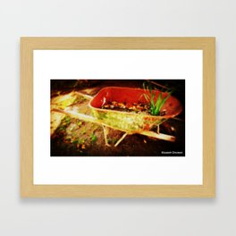 Blemished Framed Art Print