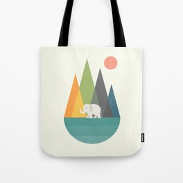 Walk In Peace Tote Bag