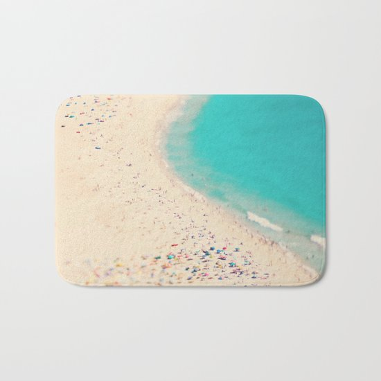 beach love III - Nazare Bath Mat