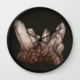 Pink Quartz Wall Clock