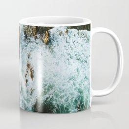 OCEAN - SEA - WATER - ROCKS - PHOTOGRAPHY Coffee Mug