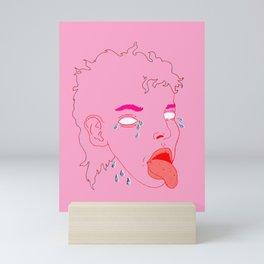 Cry Baby Mini Art Print