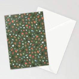Ethnic Yakutian pattern Stationery Cards
